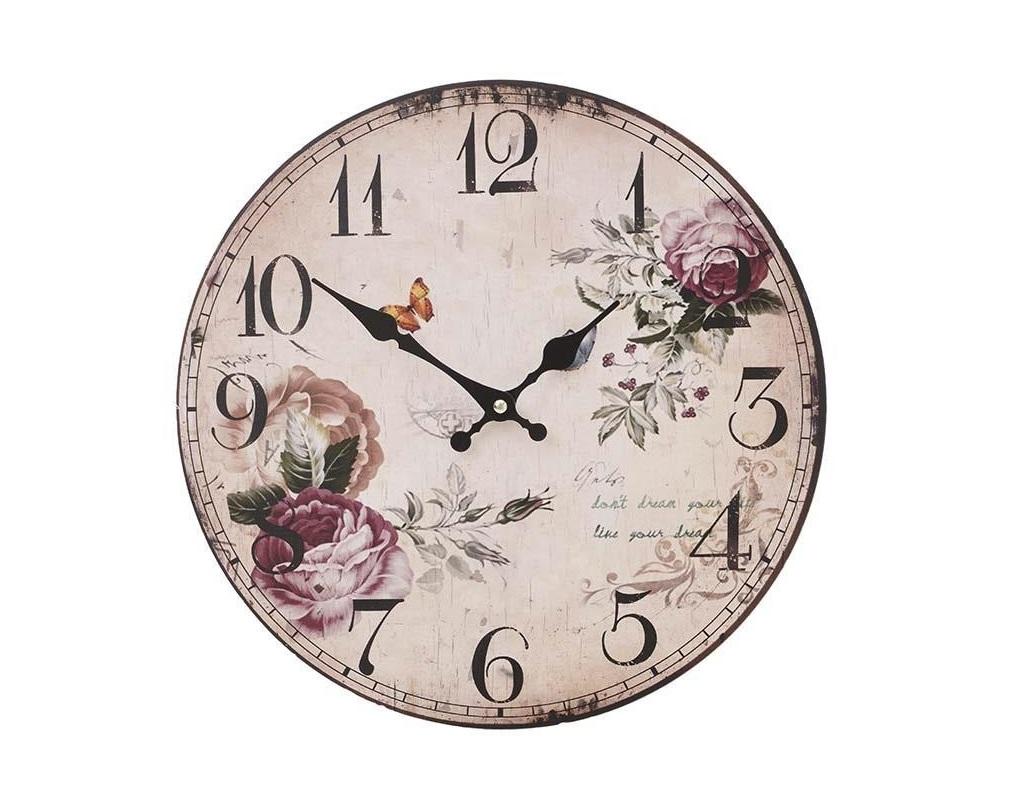 Часы настенные BanfieldНастенные часы<br>Часы настенные - кварцевый механизм<br><br>Material: МДФ<br>Width см: None<br>Depth см: 2<br>Height см: None<br>Diameter см: 34