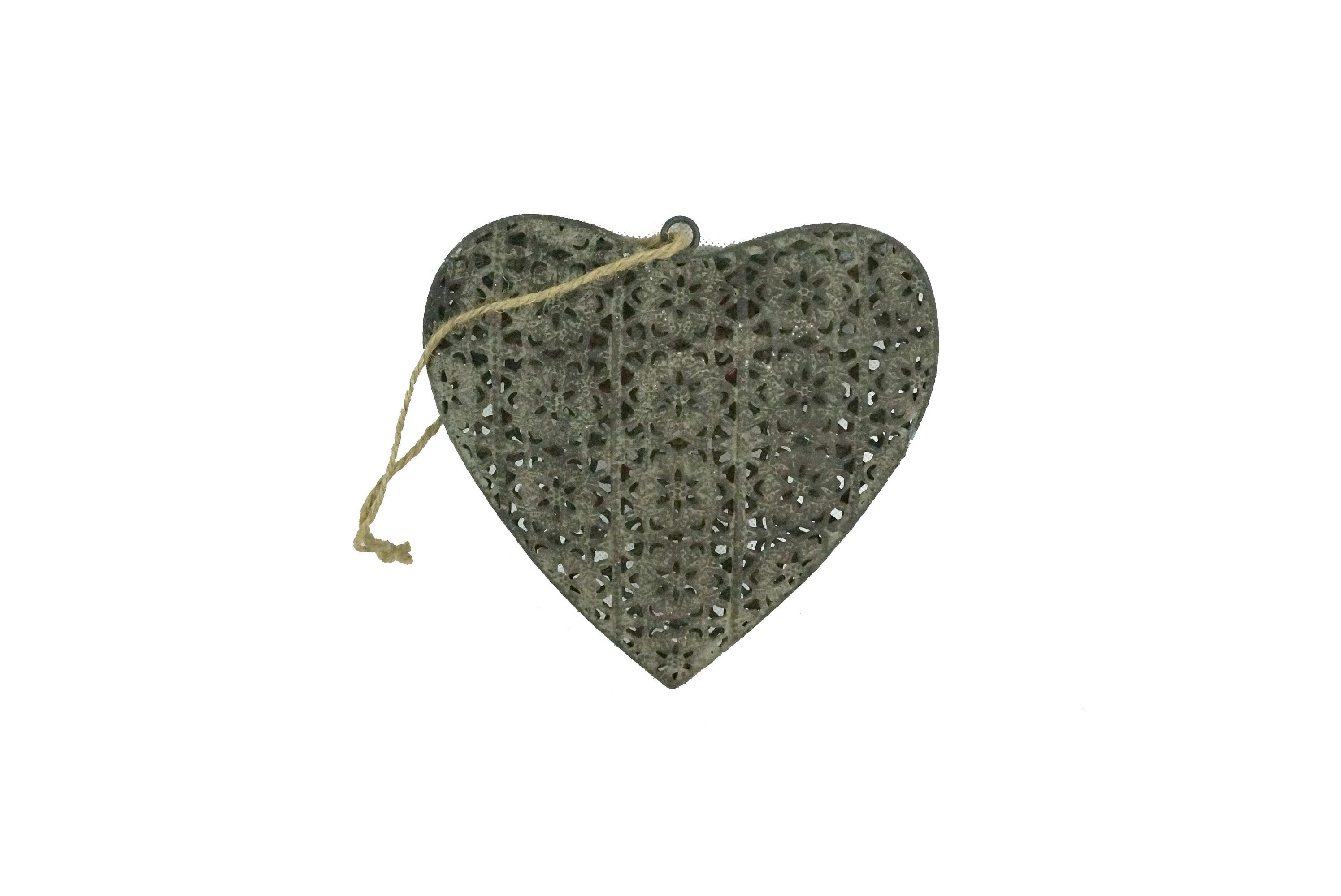 Декоративная подвеска HeartДругое<br><br><br>Material: Железо<br>Length см: None<br>Width см: 16<br>Depth см: 3<br>Height см: 16
