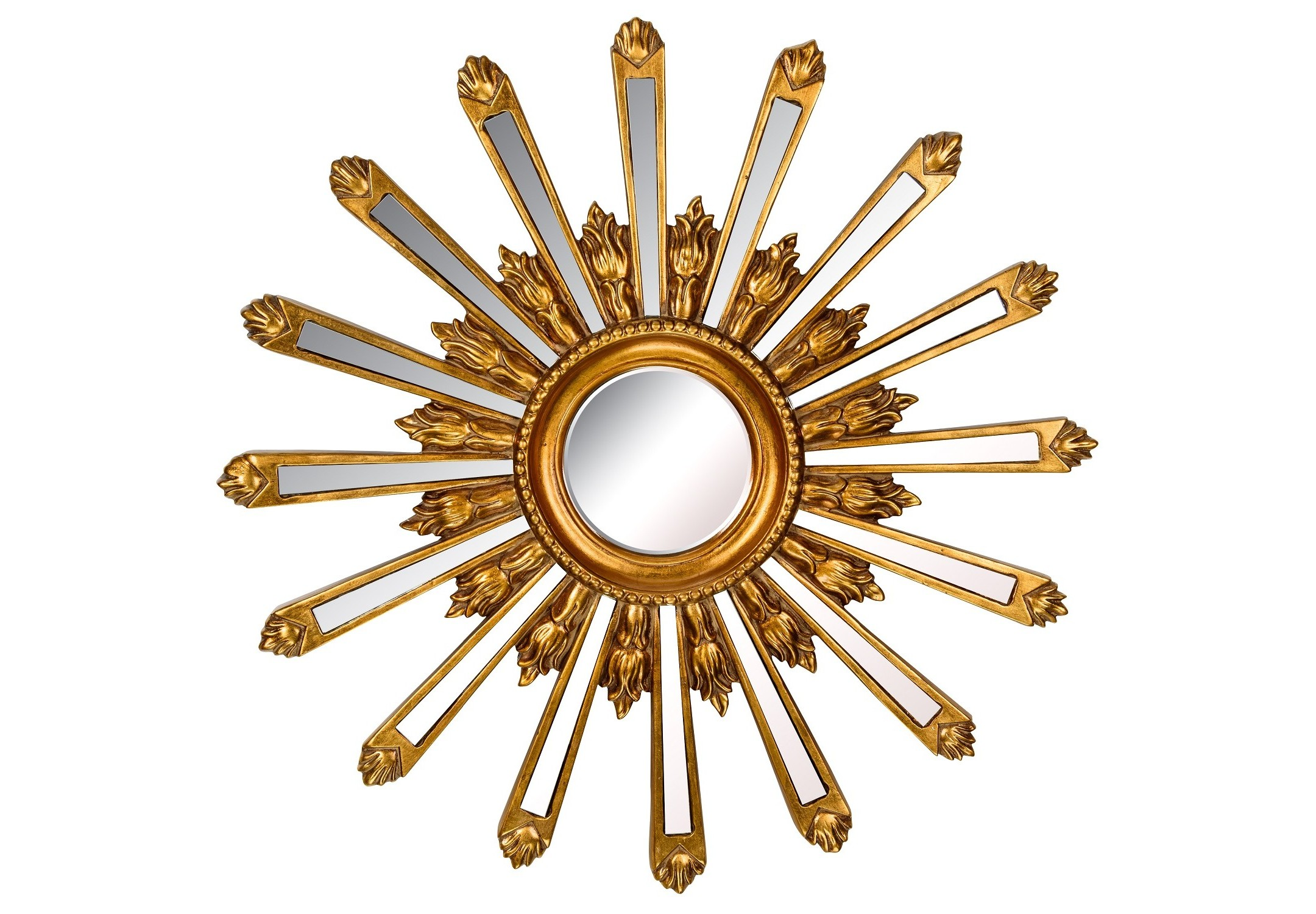 Зеркало Orion GoldНастенные зеркала<br><br><br>Material: Полирезин<br>Глубина см: 4.0