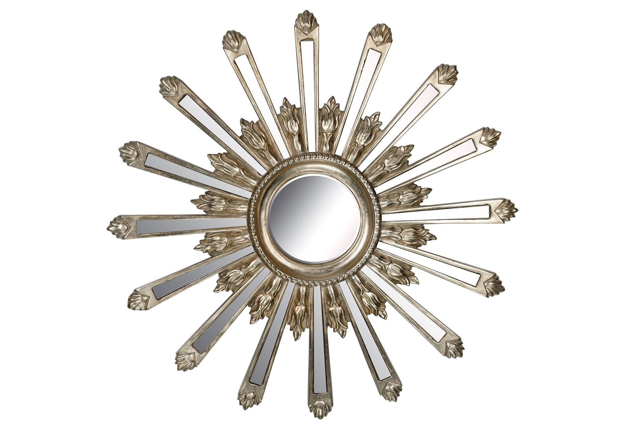 Зеркало Orion SilverНастенные зеркала<br><br><br>Material: Полирезин<br>Depth см: 4<br>Diameter см: 71