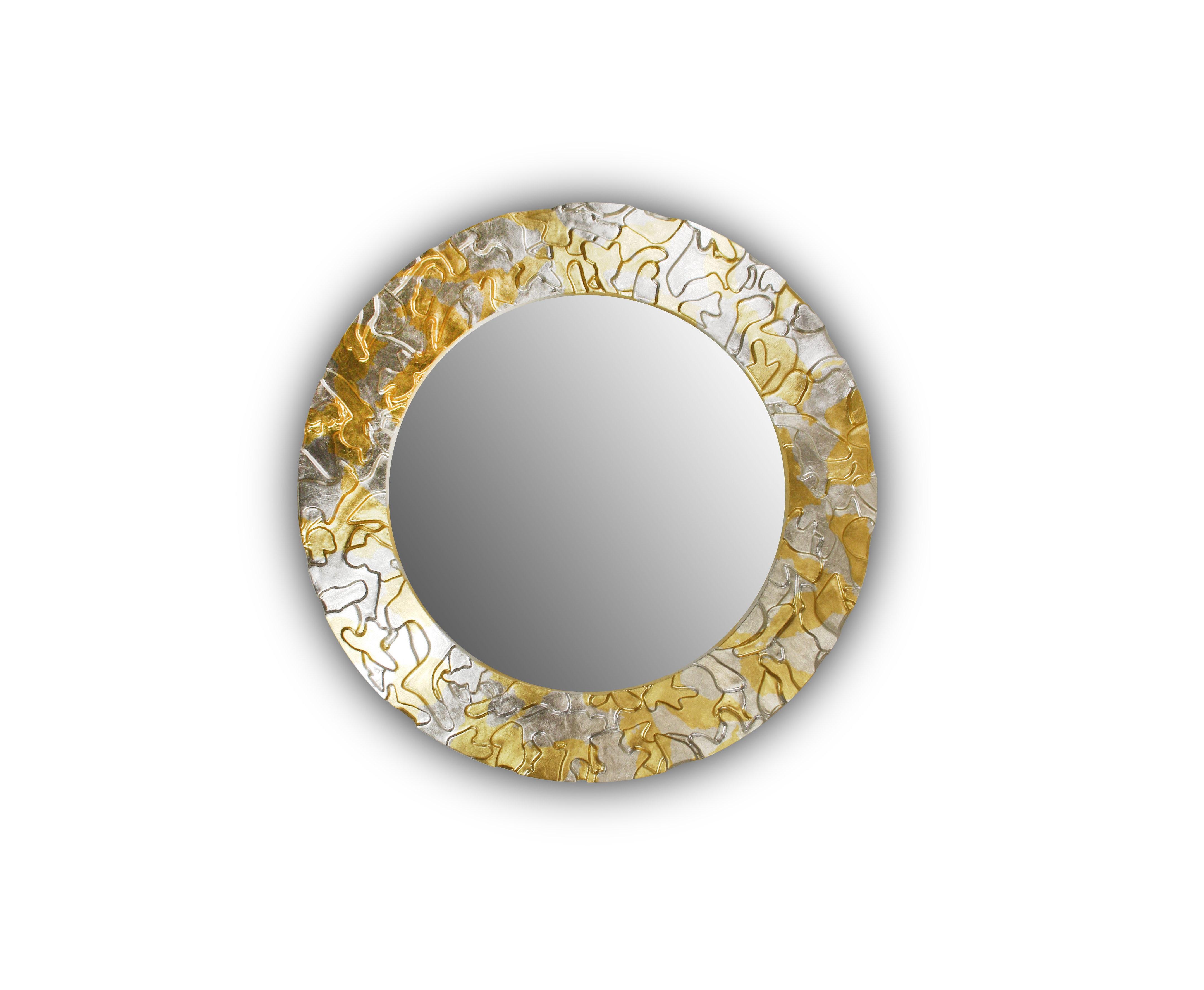 Зеркало Fashion CamouflageНастенные зеркала<br><br><br>Material: Дерево<br>Depth см: 3.6<br>Height см: None<br>Diameter см: 90