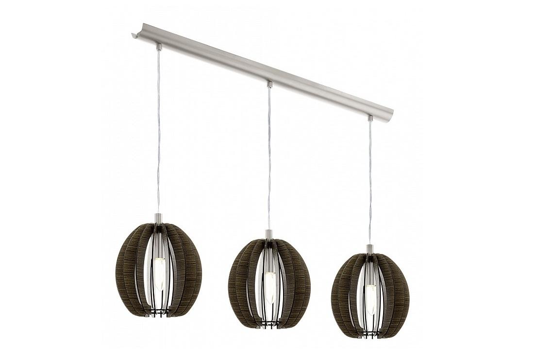 Подвесной светильник CossanoПодвесные светильники<br>&amp;lt;div&amp;gt;Вид цоколя: E14&amp;lt;/div&amp;gt;&amp;lt;div&amp;gt;Мощность: 40W&amp;lt;/div&amp;gt;&amp;lt;div&amp;gt;Количество ламп: 3 (нет в комплекте)&amp;lt;/div&amp;gt;<br><br>Material: Дерево<br>Ширина см: 79<br>Высота см: 110<br>Глубина см: 19