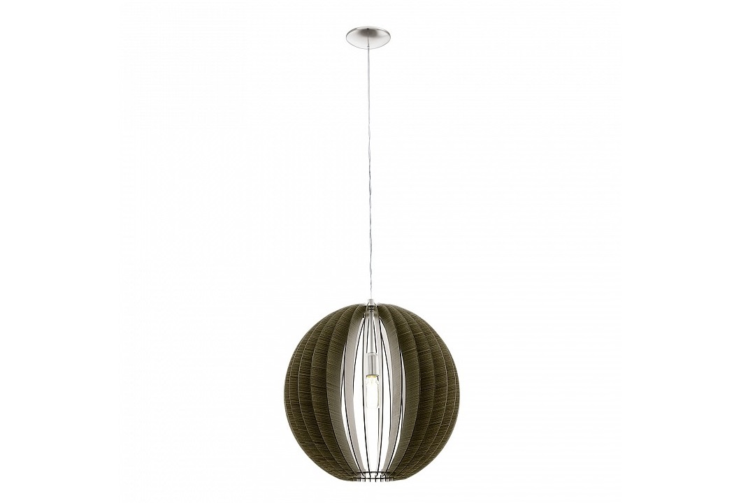 Подвесной светильник CossanoПодвесные светильники<br>&amp;lt;div&amp;gt;Вид цоколя: E14&amp;lt;/div&amp;gt;&amp;lt;div&amp;gt;Мощность: 40W&amp;lt;/div&amp;gt;&amp;lt;div&amp;gt;Количество ламп: 3 (нет в комплекте)&amp;lt;/div&amp;gt;<br><br>Material: Дерево<br>Height см: 110<br>Diameter см: 50