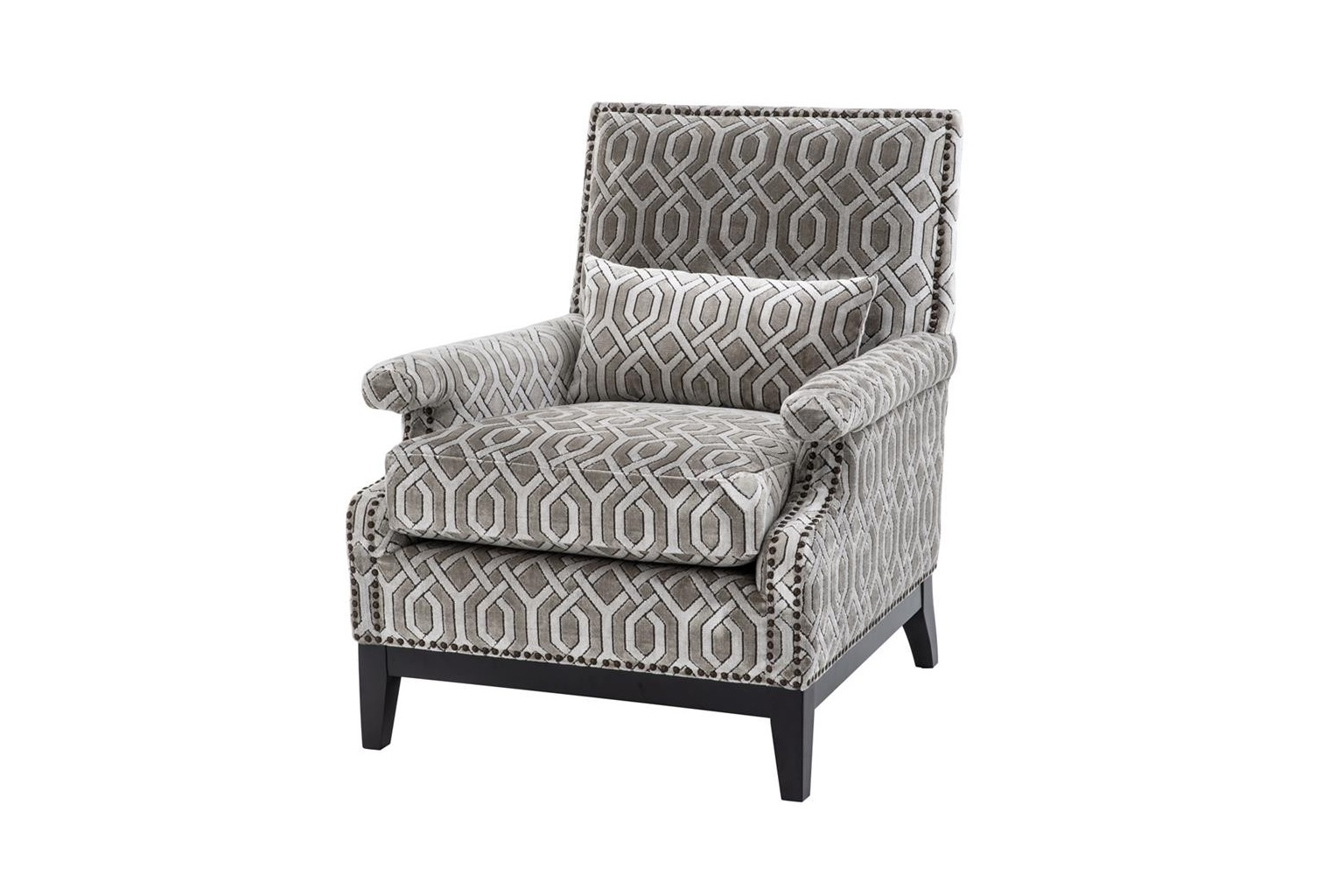 Кресло GoldoniИнтерьерные кресла<br><br><br>Material: Вельвет<br>Width см: 75<br>Depth см: 85<br>Height см: 93