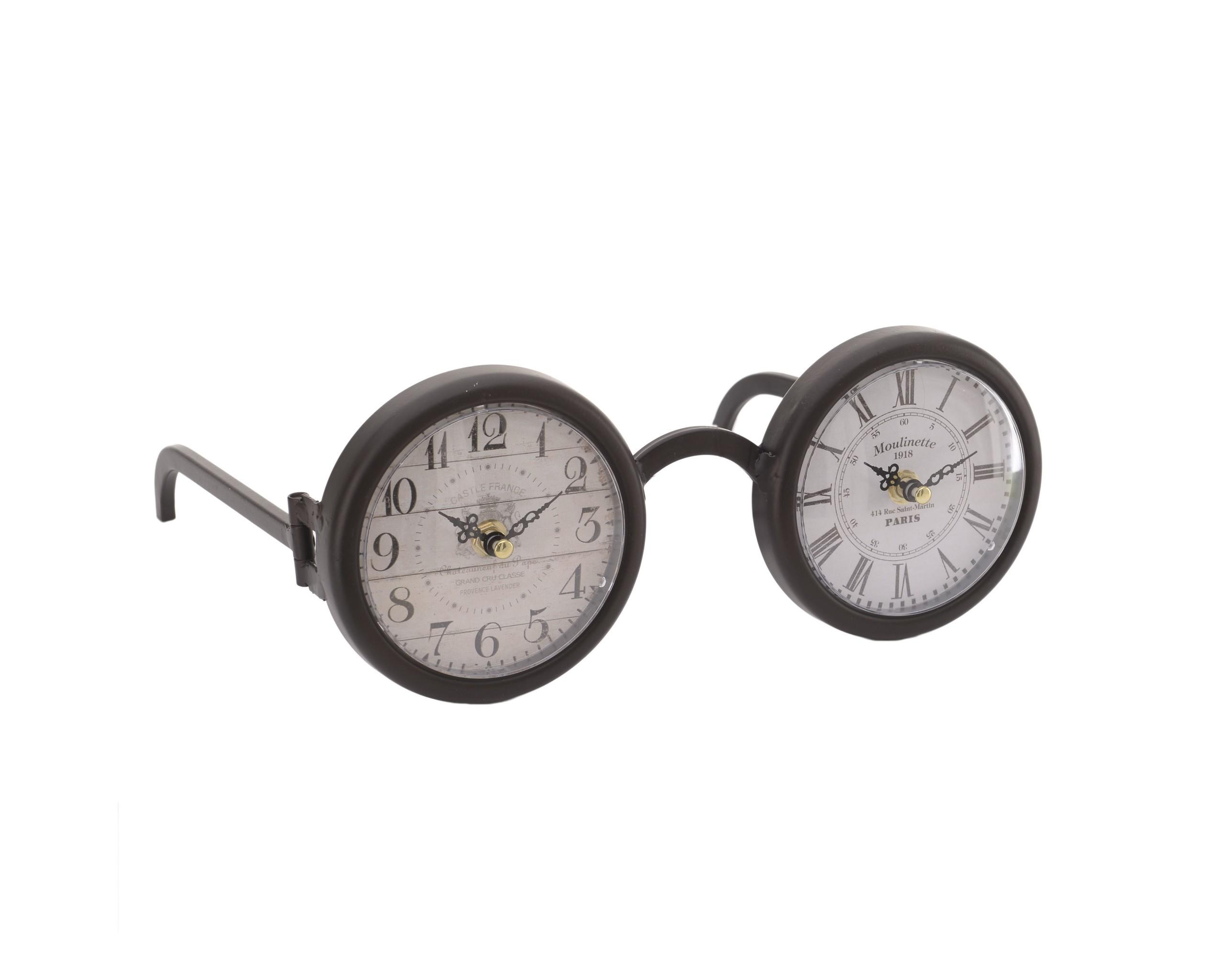Часы настольные FasslerНастольные часы<br>Кварцевый механизм<br><br>Material: Металл<br>Ширина см: 29.0<br>Высота см: 23.0<br>Глубина см: 12.0