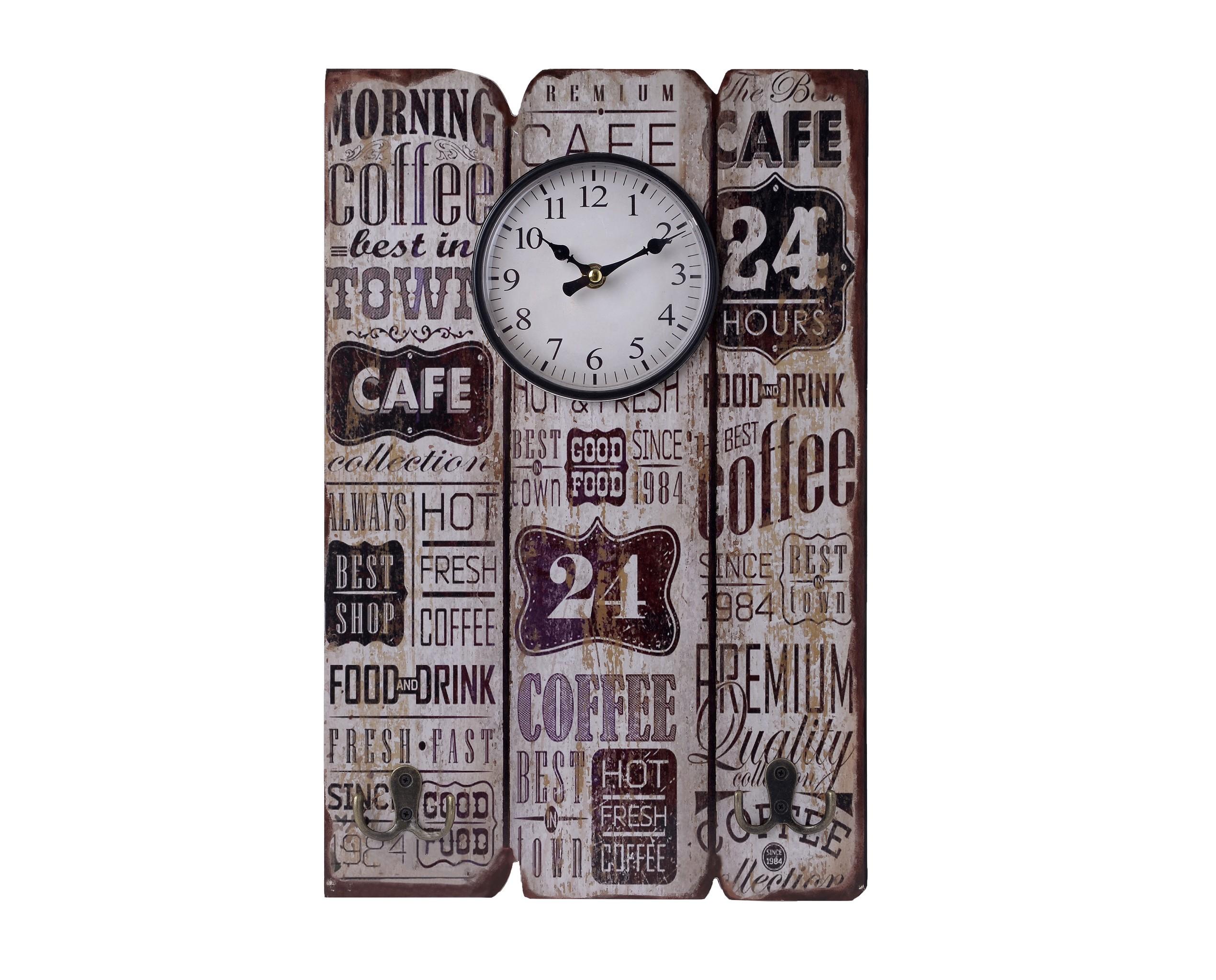 Часы настенные MilortНастенные часы<br>Кварцевый механизм<br><br>Material: Металл<br>Ширина см: 30.0<br>Высота см: 45.0<br>Глубина см: 4.0