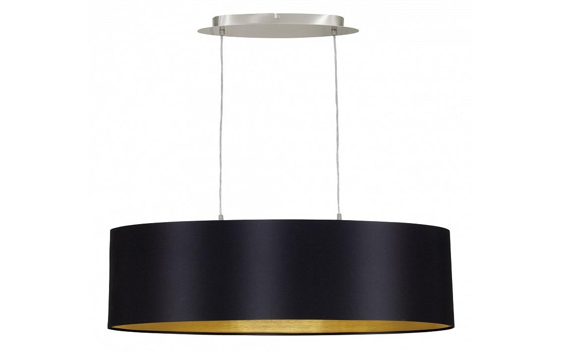 Подвесной светильник MaserloПодвесные светильники<br>&amp;lt;div&amp;gt;Вид цоколя: E27&amp;lt;/div&amp;gt;&amp;lt;div&amp;gt;Мощность: 60W&amp;lt;/div&amp;gt;&amp;lt;div&amp;gt;Количество ламп: 2 (нет в комплекте)&amp;lt;/div&amp;gt;<br><br>Material: Текстиль<br>Length см: None<br>Width см: 78<br>Depth см: 22<br>Height см: 110