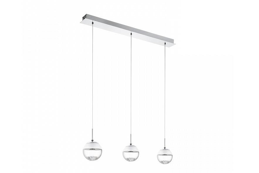 Подвесной светильник MontefioПодвесные светильники<br>&amp;lt;div&amp;gt;Вид цоколя: LED&amp;lt;/div&amp;gt;&amp;lt;div&amp;gt;Мощность: 6W&amp;lt;/div&amp;gt;&amp;lt;div&amp;gt;Количество ламп: 3&amp;lt;/div&amp;gt;&amp;lt;div&amp;gt;&amp;lt;br&amp;gt;&amp;lt;/div&amp;gt;&amp;lt;div&amp;gt;Материал плафонов и подвесок - стекло, хрусталь,&amp;lt;/div&amp;gt;&amp;lt;div&amp;gt;Материал арматуры - сталь,&amp;lt;/div&amp;gt;<br><br>Material: Сталь<br>Ширина см: 87<br>Высота см: 110<br>Глубина см: 14
