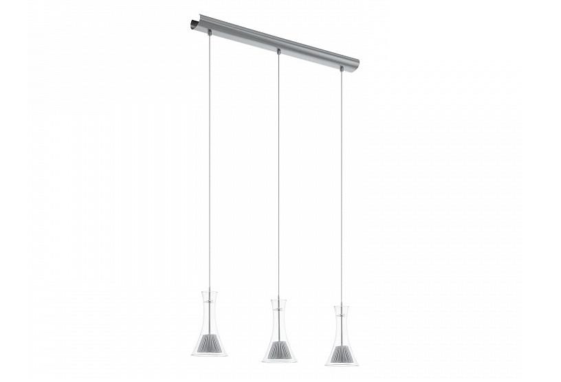 Подвесной светильник MuseroПодвесные светильники<br>&amp;lt;div&amp;gt;&amp;lt;div&amp;gt;Вид цоколя: LED&amp;lt;/div&amp;gt;&amp;lt;div&amp;gt;Мощность: 5,96W&amp;lt;/div&amp;gt;&amp;lt;div&amp;gt;Количество ламп: 3&amp;lt;/div&amp;gt;&amp;lt;/div&amp;gt;&amp;lt;div&amp;gt;&amp;lt;br&amp;gt;&amp;lt;/div&amp;gt;&amp;lt;div&amp;gt;Материал плафонов и подвесок - металл, стекло&amp;lt;br&amp;gt;&amp;lt;/div&amp;gt;&amp;lt;div&amp;gt;Материал арматуры - сталь&amp;lt;br&amp;gt;&amp;lt;/div&amp;gt;<br><br>Material: Сталь<br>Length см: None<br>Width см: 74<br>Depth см: 13<br>Height см: 110