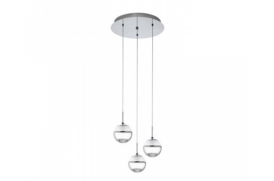 Подвесной светильник MontefioПодвесные светильники<br>&amp;lt;div&amp;gt;Вид цоколя: LED&amp;lt;/div&amp;gt;&amp;lt;div&amp;gt;Мощность: 5W&amp;lt;/div&amp;gt;&amp;lt;div&amp;gt;Количество ламп: 3&amp;lt;/div&amp;gt;&amp;lt;div&amp;gt;&amp;lt;br&amp;gt;&amp;lt;/div&amp;gt;&amp;lt;div&amp;gt;Материал плафонов и подвесок - стекло, хрусталь&amp;lt;/div&amp;gt;&amp;lt;div&amp;gt;Материал арматуры - сталь&amp;lt;/div&amp;gt;<br><br>Material: Стекло<br>Height см: 110<br>Diameter см: 40