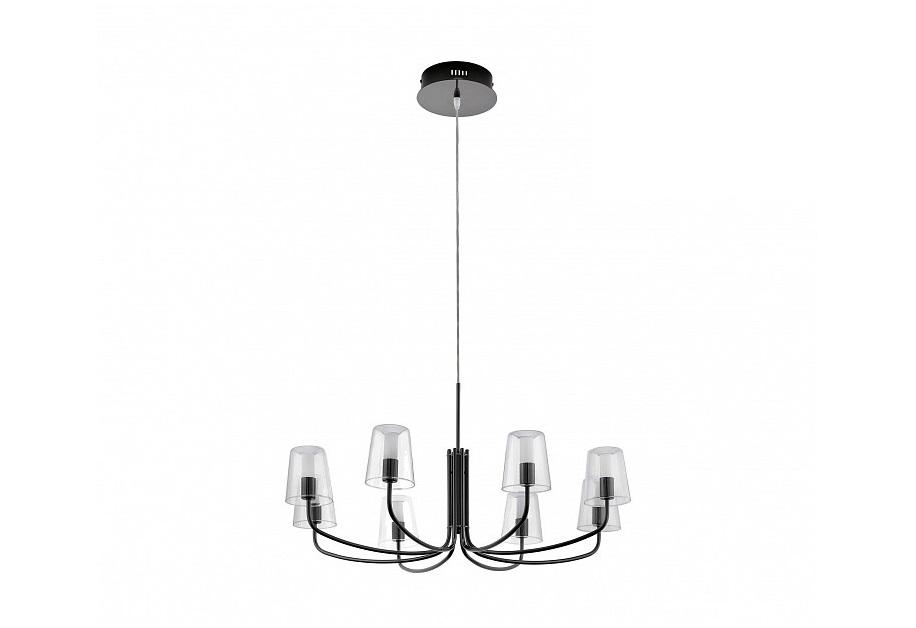 Подвесная люстра NoventaЛюстры подвесные<br>&amp;lt;div&amp;gt;Вид цоколя: LED&amp;lt;/div&amp;gt;&amp;lt;div&amp;gt;Мощность: 3W&amp;lt;/div&amp;gt;&amp;lt;div&amp;gt;Количество ламп: 8&amp;lt;/div&amp;gt;<br><br>Material: Сталь<br>Height см: 150<br>Diameter см: 82.5