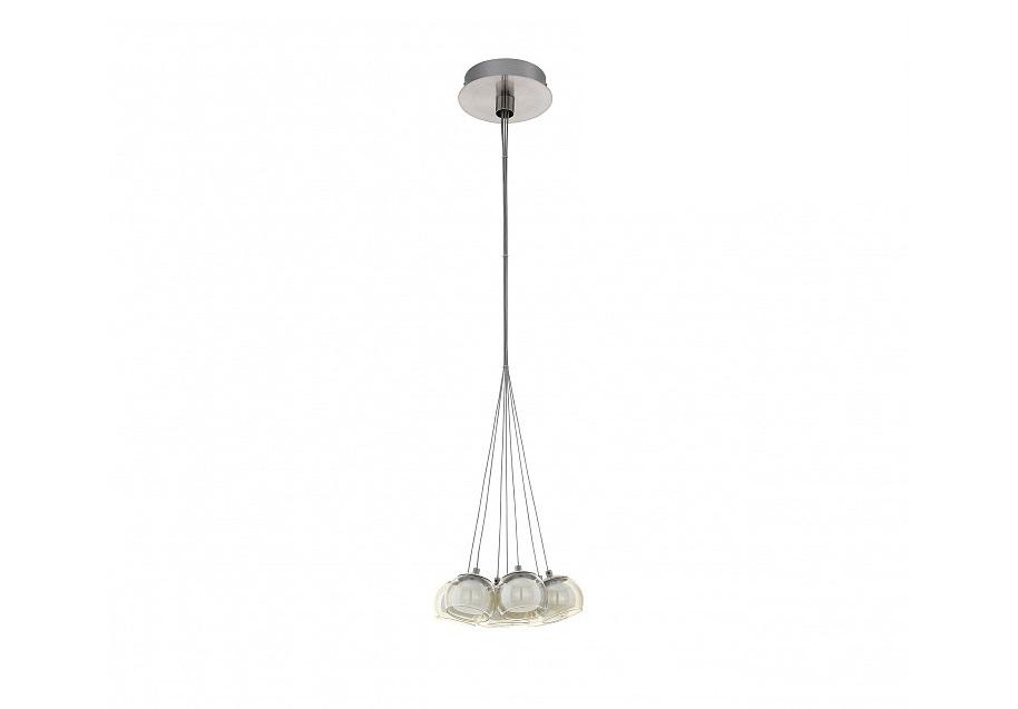 Подвесной светильник PoldrasПодвесные светильники<br>Вид цоколя: LEDМощность: 3WКоличество ламп: 7Материал плафонов и подвесок - полимер
