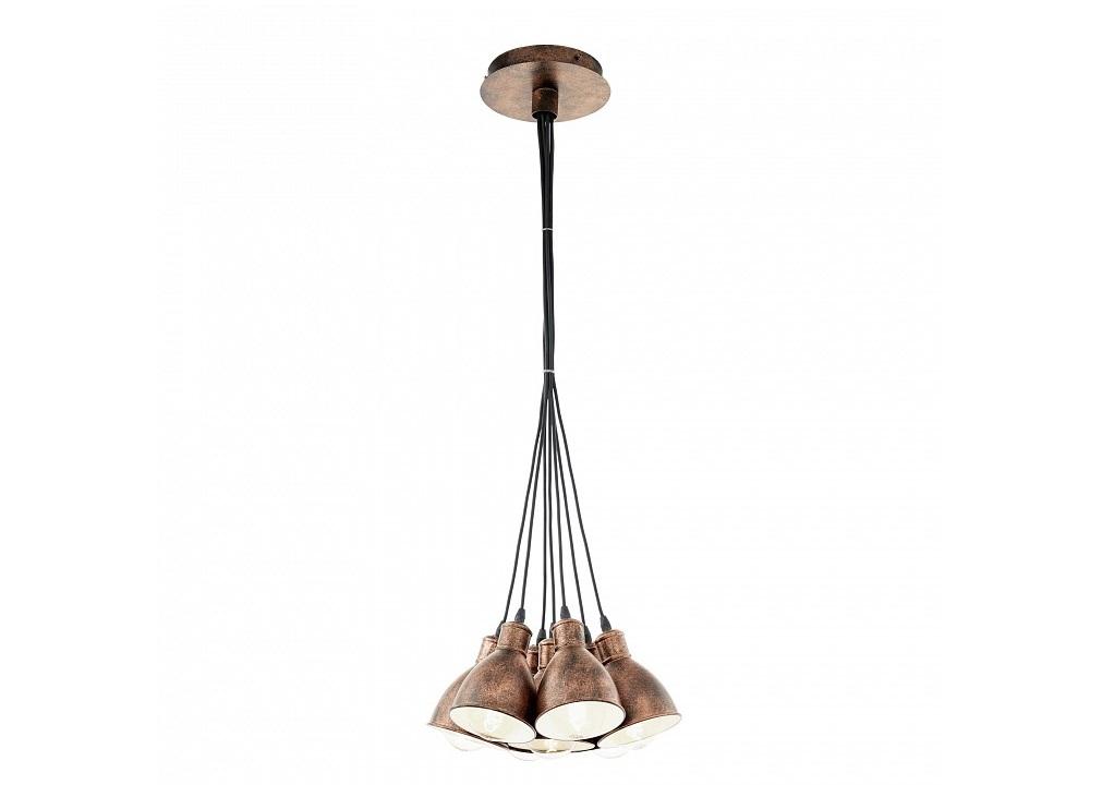 Подвесной светильник PriddyПодвесные светильники<br>&amp;lt;div&amp;gt;Вид цоколя: E27&amp;lt;/div&amp;gt;&amp;lt;div&amp;gt;Мощность: 60W&amp;lt;/div&amp;gt;&amp;lt;div&amp;gt;Количество ламп: 7 (нет в комплекте)&amp;lt;/div&amp;gt;<br><br>Material: Металл<br>Height см: 110<br>Diameter см: 38.5