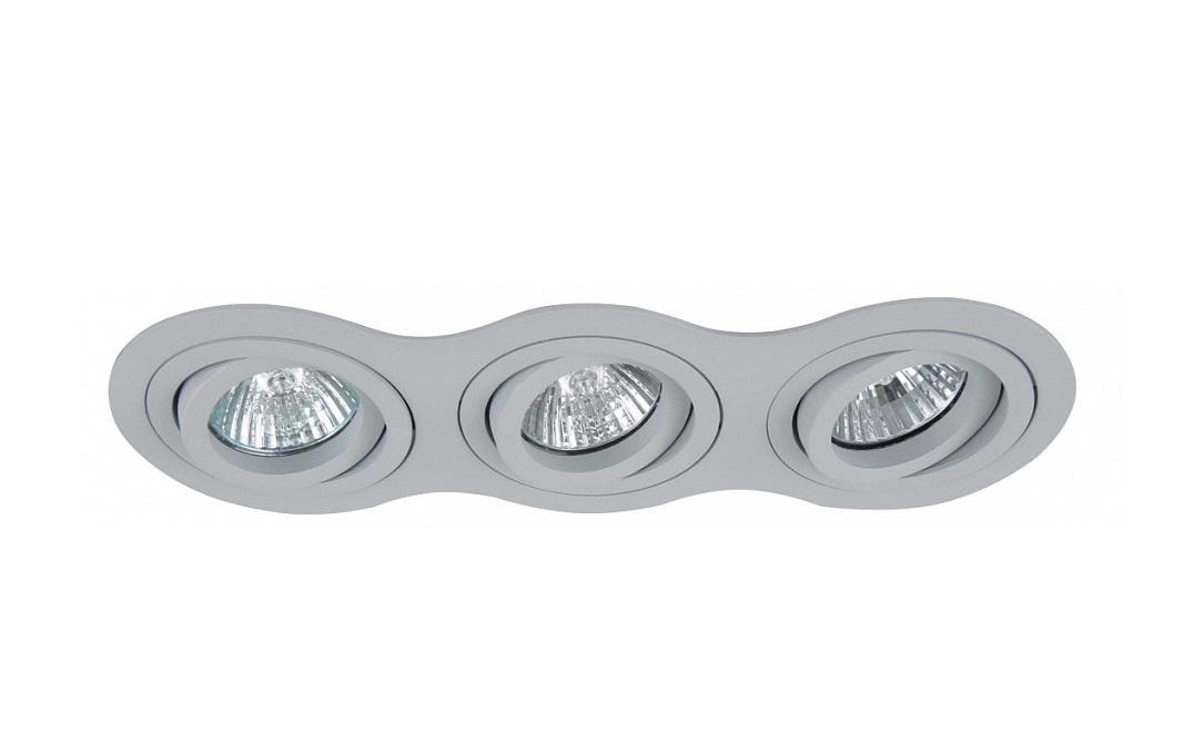 Встраиваемый светильник InteroТочечный свет<br>&amp;lt;div&amp;gt;Вид цоколя: GU10&amp;lt;/div&amp;gt;&amp;lt;div&amp;gt;Мощность: 50W&amp;lt;/div&amp;gt;&amp;lt;div&amp;gt;Количество ламп: 3 (нет в комплекте)&amp;lt;/div&amp;gt;<br><br>Material: Металл<br>Ширина см: 25<br>Высота см: 7<br>Глубина см: 9