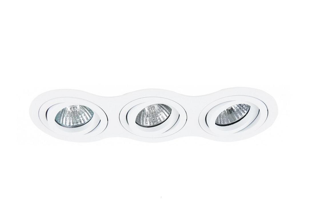 Встраиваемый светильник InteroТочечный свет<br>&amp;lt;div&amp;gt;Вид цоколя: GU10&amp;lt;/div&amp;gt;&amp;lt;div&amp;gt;Мощность: 50W&amp;lt;/div&amp;gt;&amp;lt;div&amp;gt;Количество ламп: 3 (нет в комплекте)&amp;lt;/div&amp;gt;<br><br>Material: Металл<br>Length см: None<br>Width см: 25.5<br>Depth см: 9<br>Height см: 7.4