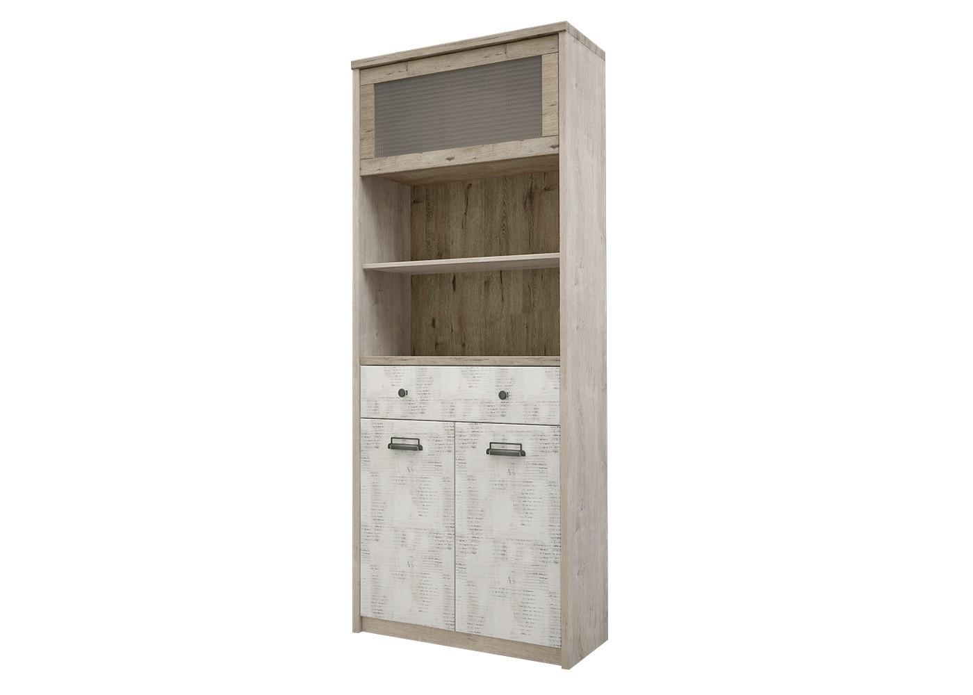 Шкаф DieselКнижные шкафы и библиотеки<br>Коллекция для молодежной комнаты DIESEL- это сочетание функциональности и уникальности дизайна. Характерные ручкив стиле &amp;quot;лофт&amp;quot;, вставки из рифленого стекла, используемого на фасадах витрин, оригинальное сочетание цветов фасадов - всё это дает возможность создать стильный и индивидуальный интерьер.&amp;amp;nbsp;<br><br>Material: ДСП<br>Length см: None<br>Width см: 86<br>Depth см: 36<br>Height см: 210
