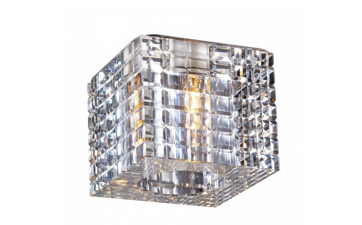 Встраиваемый светильник CubicТочечный свет<br>&amp;lt;div&amp;gt;Вид цоколя: G9&amp;lt;/div&amp;gt;&amp;lt;div&amp;gt;Мощность: 40W&amp;lt;/div&amp;gt;&amp;lt;div&amp;gt;Количество ламп: 1 (нет в комплекте)&amp;lt;/div&amp;gt;<br><br>Material: Стекло<br>Length см: None<br>Width см: 7<br>Depth см: 7<br>Height см: 2.5