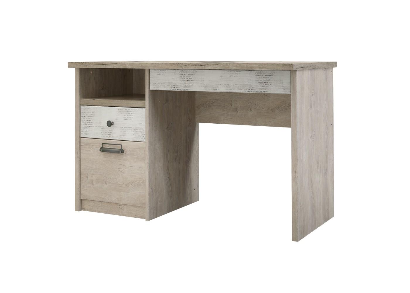 Стол DieselПисьменные столы<br>Коллекция для молодежной комнаты DIESEL- это сочетание функциональности и уникальности дизайна. Характерные ручки в стиле &amp;quot;лофт&amp;quot;, вставки из рифленого стекла, используемого на фасадах витрин, оригинальное сочетание цветов фасадов - всё это дает возможность создать стильный и индивидуальный интерьер.&amp;amp;nbsp;<br><br>Material: ДСП<br>Width см: 120<br>Depth см: 60<br>Height см: 75.6
