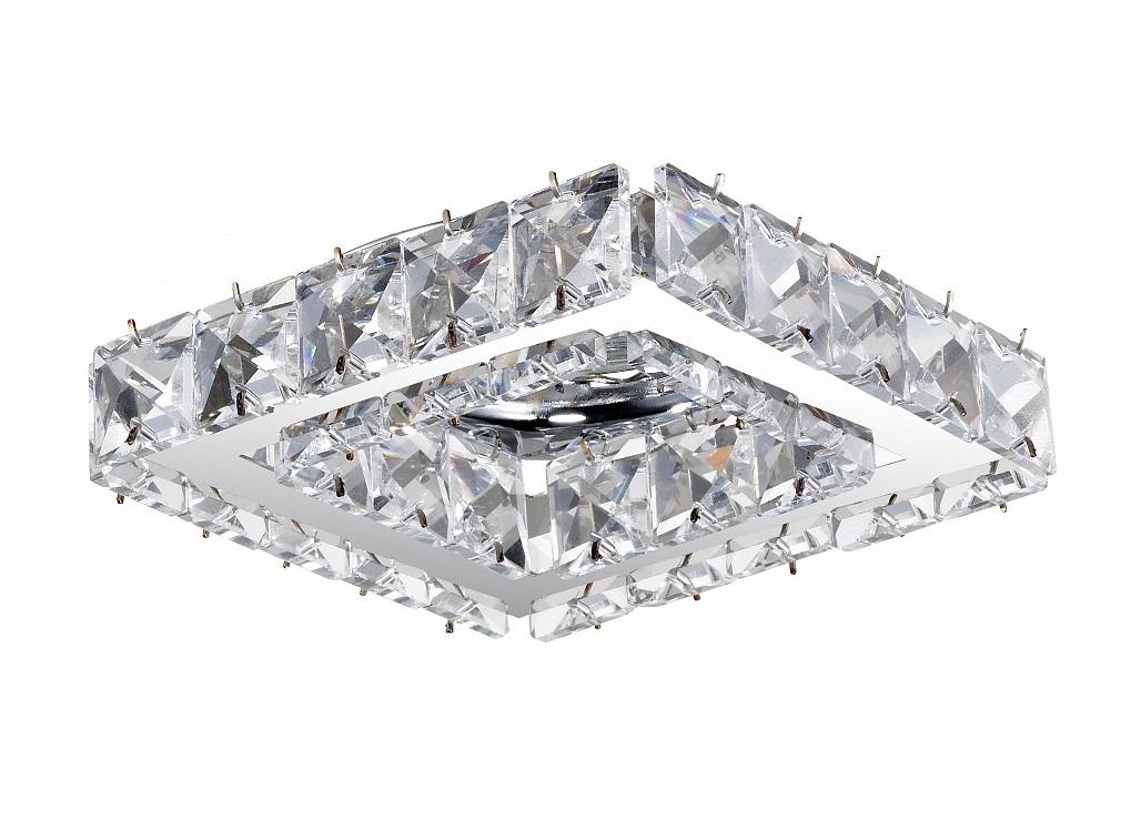 Встраиваемый светильник NevieraТочечный свет<br>&amp;lt;div&amp;gt;Вид цоколя: GX5.3&amp;lt;/div&amp;gt;&amp;lt;div&amp;gt;Мощность: 50W&amp;lt;/div&amp;gt;&amp;lt;div&amp;gt;Количество ламп: 1 (нет в комплекте)&amp;lt;/div&amp;gt;<br><br>Material: Хрусталь<br>Ширина см: 10<br>Высота см: 8<br>Глубина см: 10