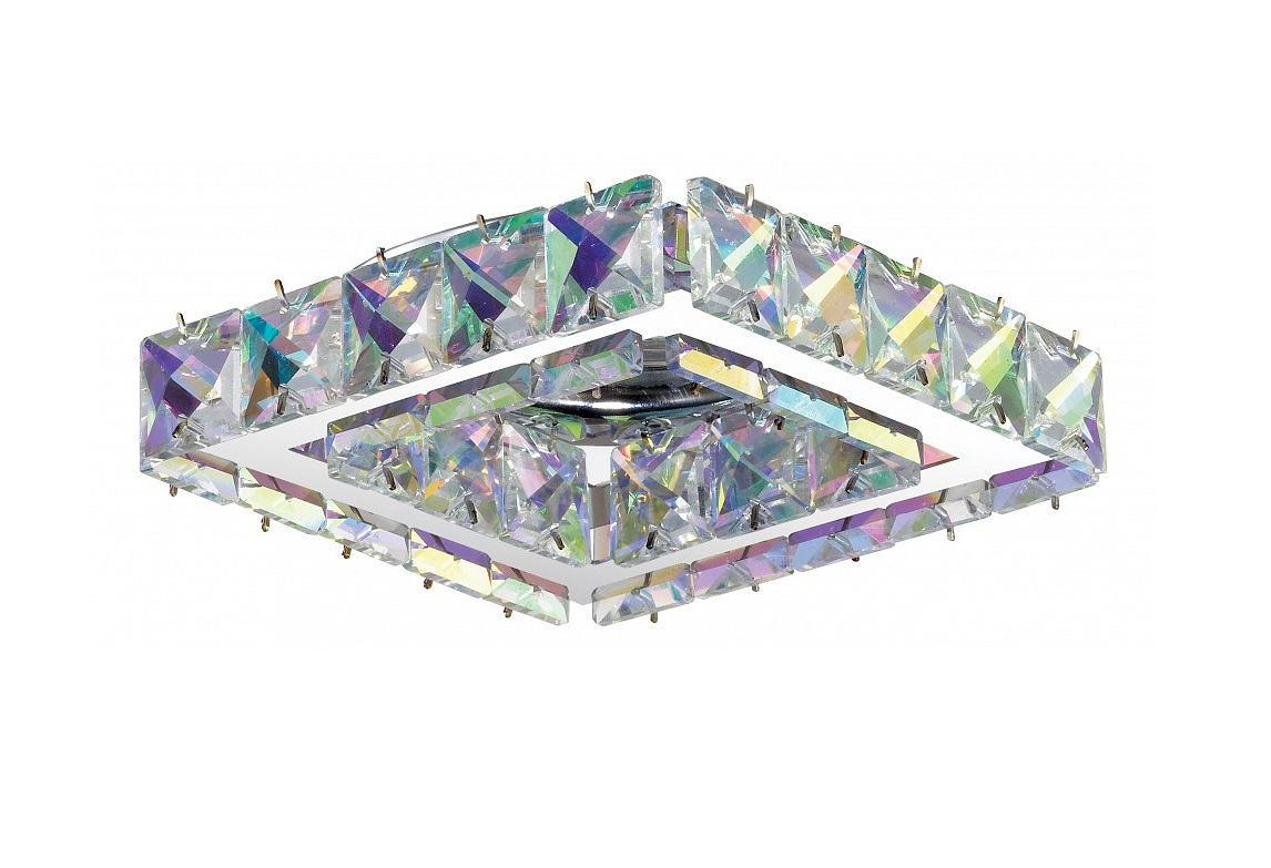 Встраиваемый светильник NevieraТочечный свет<br>&amp;lt;div&amp;gt;Вид цоколя: GX5.3&amp;lt;/div&amp;gt;&amp;lt;div&amp;gt;Мощность: 50W&amp;lt;/div&amp;gt;&amp;lt;div&amp;gt;Количество ламп: 1 (нет в комплекте)&amp;lt;/div&amp;gt;<br><br>Material: Хрусталь<br>Length см: None<br>Width см: 10.7<br>Depth см: 10.7<br>Height см: 8