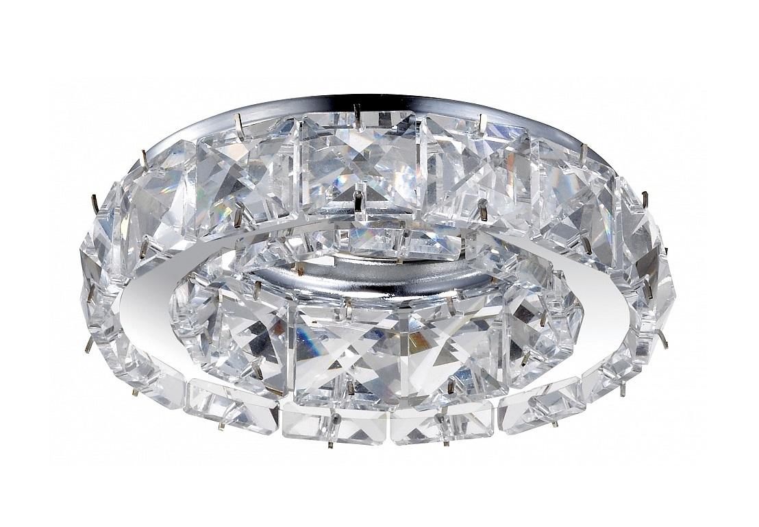 Встраиваемый светильник NevieraТочечный свет<br>&amp;lt;div&amp;gt;Вид цоколя: GX5.3&amp;lt;/div&amp;gt;&amp;lt;div&amp;gt;Мощность: 50W&amp;lt;/div&amp;gt;&amp;lt;div&amp;gt;Количество ламп: 1 (нет в комплекте)&amp;lt;/div&amp;gt;<br><br>Material: Хрусталь<br>Depth см: None<br>Height см: 8<br>Diameter см: 9.8