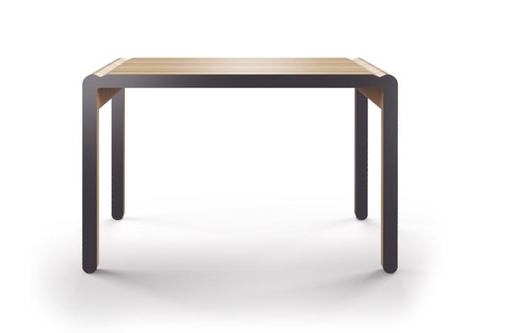 Стол M?nster?s rundaПисьменные столы<br>Скандинавский дизайн с его любовью к простоте и дереву. Окрас элементов стола в графитовый цвет. Сборка не требуется. Данный стол производится в 5 размерах.<br><br>Material: Фанера<br>Ширина см: 230<br>Высота см: 75<br>Глубина см: 78