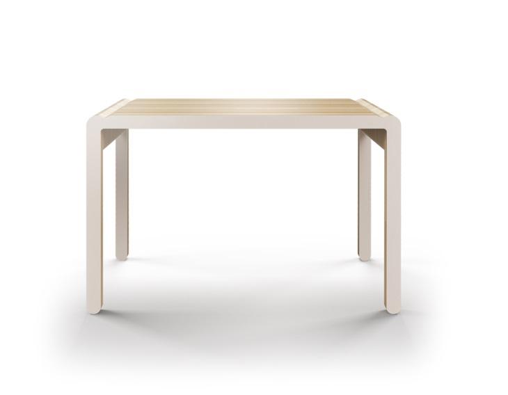 Стол M?nster?s rundaПисьменные столы<br>Скандинавский дизайн с его любовью к простоте и дереву. Окрас элементов стола в молочный цвет. Сборка не требуется. Данный стол производится в 5 размерах.<br><br>Material: Фанера<br>Width см: 230<br>Depth см: 84<br>Height см: 75