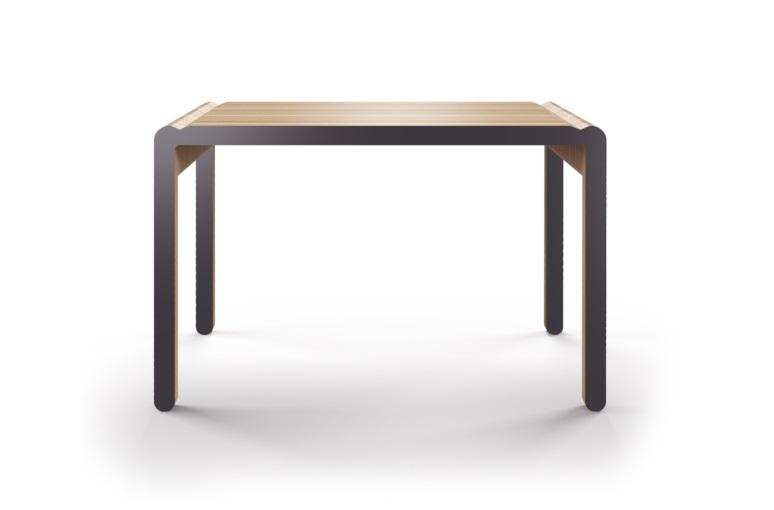 Стол M?nster?s rundaПисьменные столы<br>Скандинавский дизайн с его любовью к простоте и дереву. Окрас элементов стола в графитовый цвет. Сборка не требуется. Данный стол производится в 5 размерах.<br><br>Material: Фанера<br>Width см: 230<br>Depth см: 84<br>Height см: 75