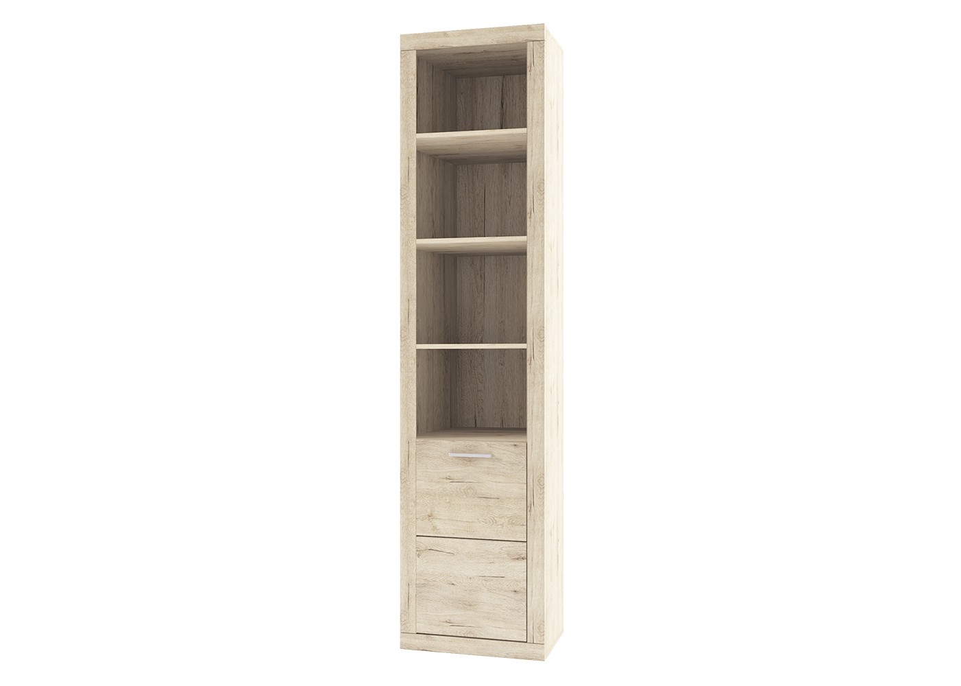 Шкаф OscarКнижные шкафы и библиотеки<br><br><br>Material: ДСП<br>Width см: 52<br>Depth см: 35.1<br>Height см: 217.3