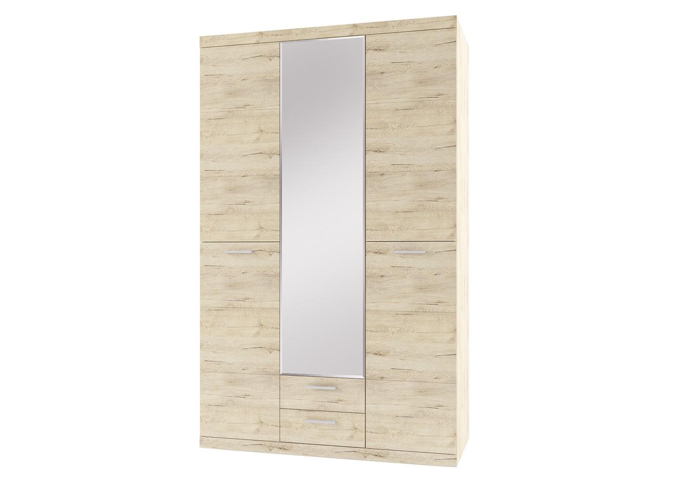 Шкаф OscarБельевые шкафы<br><br><br>Material: ДСП<br>Ширина см: 135<br>Высота см: 217<br>Глубина см: 57