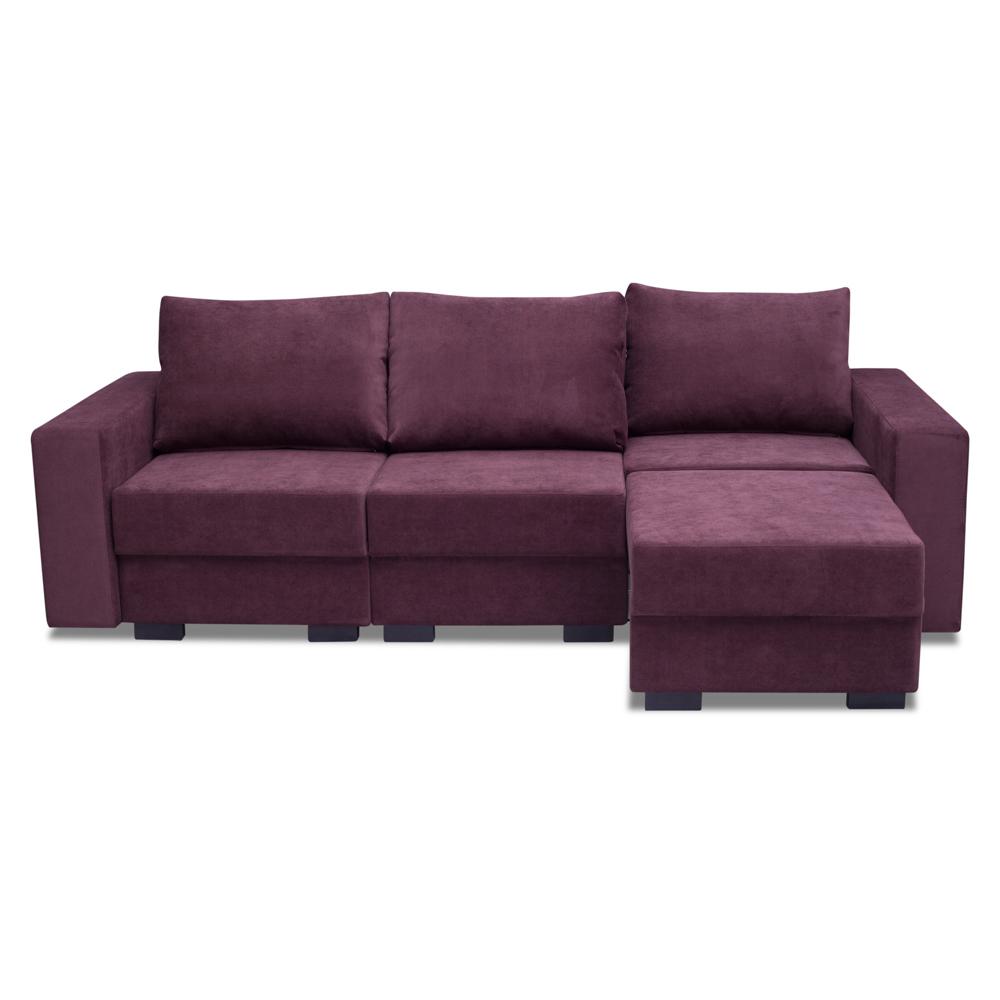 Диван-кровать СкогенУгловые раскладные диваны<br>Новаторский диван-конструктор – Скоген. Каждая секция дивана самостоятельно раскрывается и можно сделать  кровать с ровным спальным местом.   Угол можно выбрать самому -левый или правый (угол определяется сидя на диване).&amp;amp;nbsp;&amp;lt;div&amp;gt;&amp;lt;br&amp;gt;&amp;lt;/div&amp;gt;&amp;lt;div&amp;gt;Каркас (комбинации дерева, фанеры и ЛДСП).&amp;amp;nbsp;&amp;lt;/div&amp;gt;&amp;lt;div&amp;gt;Для сидячих подушек используют пену различной плотности, а также перо и силиконовое волокно. Для задних подушек есть пять видов наполнения: пена, измельченая пена, пена высокой эластичности, силиконовые волокно.&amp;amp;nbsp;&amp;lt;/div&amp;gt;&amp;lt;div&amp;gt;Материал обивки:  Verona (Полиэстер (полиэфир) 52,5%, Арил 47,5%).&amp;amp;nbsp;&amp;lt;/div&amp;gt;&amp;lt;div&amp;gt;Механизм трасформации -  тик-так.&amp;amp;nbsp;&amp;lt;/div&amp;gt;&amp;lt;div&amp;gt;Спальное место -  220*160.&amp;amp;nbsp;&amp;lt;/div&amp;gt;<br><br>Material: Текстиль<br>Ширина см: 257<br>Высота см: 90<br>Глубина см: 180