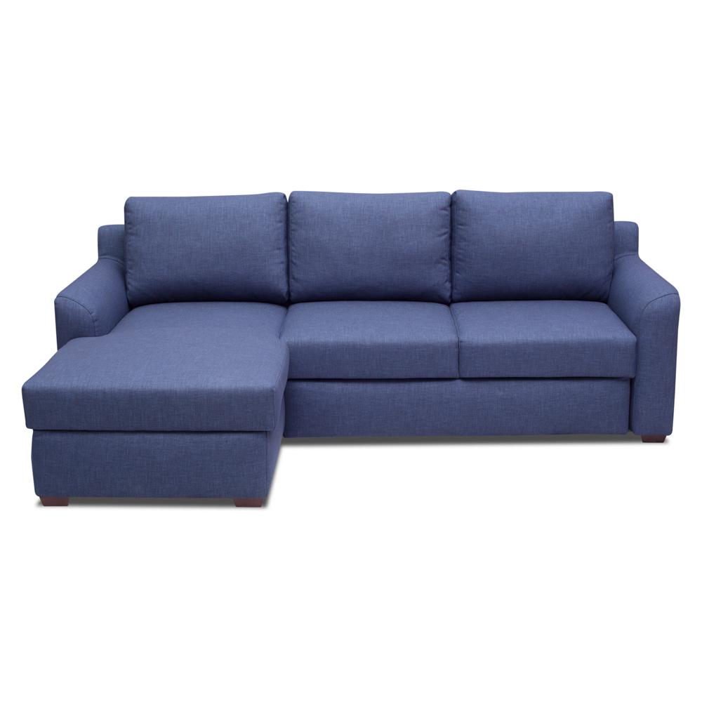 """Диван-кровать Хамар слипингУгловые раскладные диваны<br>Диван Хамар слипинг – комфортный и красивый диван для отдыха и сна. В модуле с шезлонгом предусмотрен  просторные ящики для хранения белья. Наполнение  дивана комбинированное ППУ, что повышает срок службы дивана. Для создания спального места используется выдвижной механизм трансформации """"дельфин"""". Угол можно выбрать самому -левый или правый (угол определяется сидя на диване).&amp;amp;nbsp;&amp;lt;div&amp;gt;&amp;lt;br&amp;gt;&amp;lt;/div&amp;gt;&amp;lt;div&amp;gt;Каркас (комбинации дерева, фанеры и ЛДСП).&amp;amp;nbsp;&amp;lt;/div&amp;gt;&amp;lt;div&amp;gt;Для сидячих подушек используют пену различной плотности, а также перо и силиконовое волокно.&amp;lt;/div&amp;gt;&amp;lt;div&amp;gt;Для задних подушек есть пять видов наполнения: пена, измельченая пена, пена высокой эластичности, силиконовые волокно.&amp;amp;nbsp;&amp;lt;/div&amp;gt;&amp;lt;div&amp;gt;Материал обивки: Lido trend 16 blue  (Состав:100% полиэстер). Механизм трансформации - дельфин.&amp;amp;nbsp;&amp;lt;/div&amp;gt;&amp;lt;div&amp;gt;Спальное место - 205*145.&amp;lt;/div&amp;gt;<br><br>Material: Текстиль<br>Width см: 239<br>Depth см: 157<br>Height см: 88"""