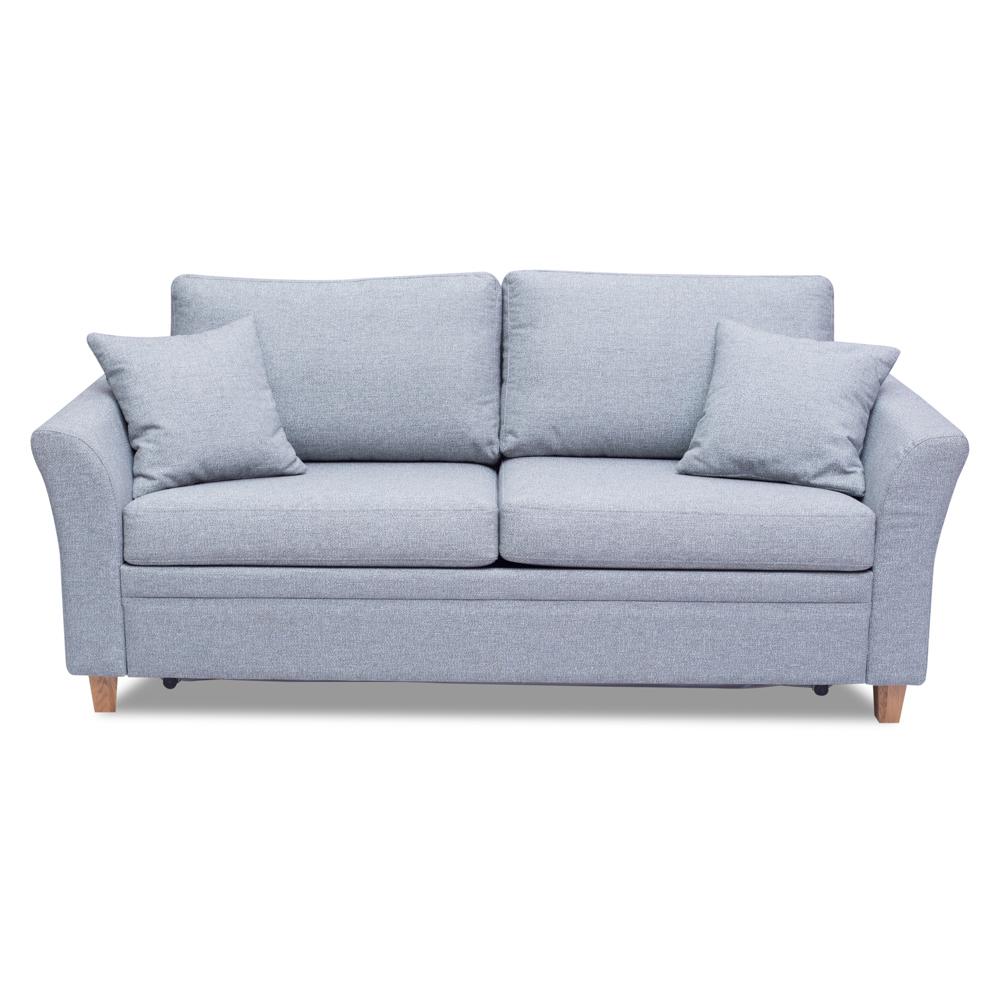 Диван-кровать ЛандПрямые раскладные диваны<br>Диван Ланд – это изящный диван с возможностью трансформации в кровать. В подарок комплектуют по две маленьких диванных подушки.&amp;amp;nbsp;&amp;lt;div&amp;gt;&amp;lt;br&amp;gt;&amp;lt;/div&amp;gt;&amp;lt;div&amp;gt;Комфортабельные диваны Ланд будут красотой и гордостью Вашего дома. Каркас (комбинации дерева, фанеры и ЛДСП).&amp;amp;nbsp;&amp;lt;/div&amp;gt;&amp;lt;div&amp;gt;Для сидячих подушек используют пену различной плотности, а также перо и силиконовое волокно.&amp;amp;nbsp;&amp;lt;/div&amp;gt;&amp;lt;div&amp;gt;Для задних подушек есть пять видов наполнения: пена, измельченая пена, пена высокой эластичности, силиконовые волокно.&amp;amp;nbsp;&amp;lt;/div&amp;gt;&amp;lt;div&amp;gt;Материал обивки: Beech 29 sapphire.&amp;amp;nbsp;&amp;lt;/div&amp;gt;&amp;lt;div&amp;gt;Шенилл. (Состав: 30% полиэстер, 70% акрил.).&amp;lt;/div&amp;gt;&amp;lt;div&amp;gt;Механизм трансформации - седафлекс.&amp;amp;nbsp;&amp;lt;/div&amp;gt;&amp;lt;div&amp;gt;Размер спального места -  188*133. 2 подушки в подарок.&amp;amp;nbsp;&amp;lt;/div&amp;gt;<br><br>Material: Текстиль<br>Width см: 190<br>Depth см: 93<br>Height см: 87