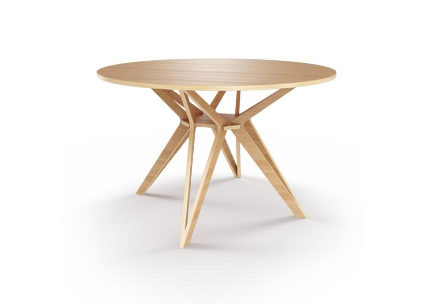 Стол HagforsОбеденные столы<br>Hagfors – это стол, необычный дизайн которого создаст изящный акцент в вашем интерьере. Отделка шпоном дуба.&amp;lt;div&amp;gt;&amp;lt;br&amp;gt;&amp;lt;/div&amp;gt;&amp;lt;div&amp;gt;Возможен в диаметрах 60, 90, 100, 120 и 148см.&amp;lt;/div&amp;gt;<br><br>Material: Фанера<br>Height см: 75<br>Diameter см: 60