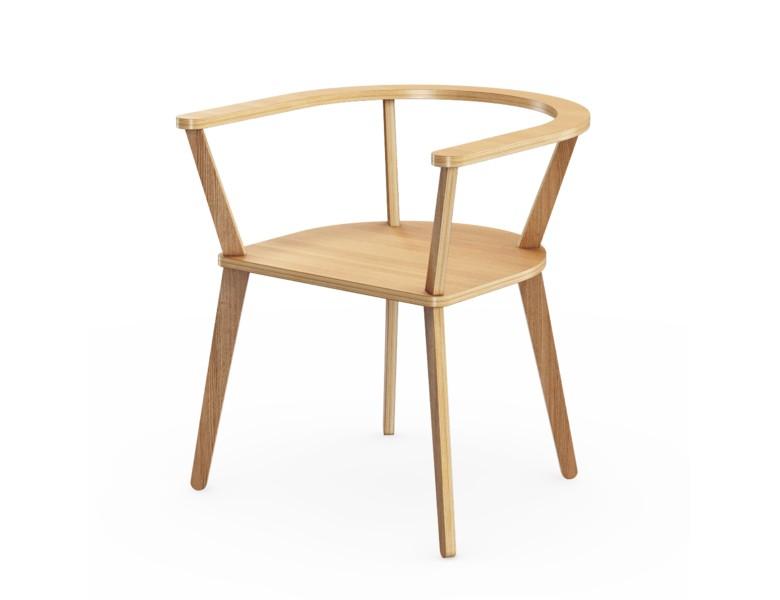 Стул Enk?pingsСтулья с подлокотниками<br>Прочный, стильный и удобный стул, настоящая классика скандинавского дизайна. Отделка шпоном дуба. Сборка не требуется.<br><br>Material: Фанера<br>Ширина см: 65.0<br>Высота см: 72.0<br>Глубина см: 65.0