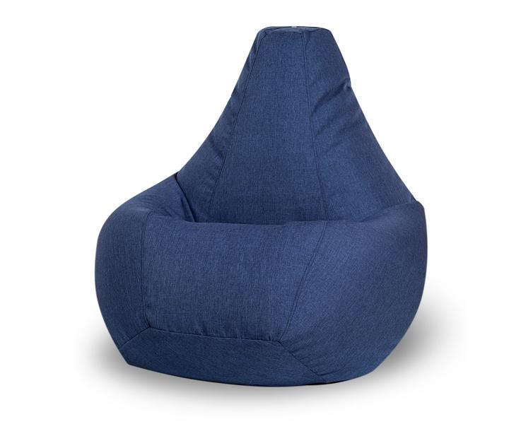 Кресло-мешок Jeans XLБесформенные пуфы<br>Съемный чехол: Да (на молнии)&amp;amp;nbsp;&amp;lt;div&amp;gt;Наполнитель: пенополистирол (гранула 2 мм)&amp;lt;/div&amp;gt;<br><br>Material: Текстиль<br>Height см: 135<br>Diameter см: 90