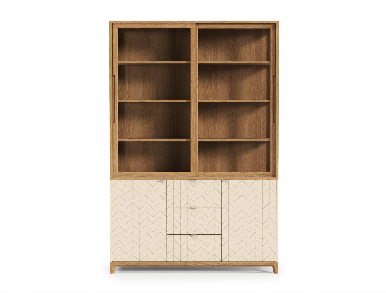 Буфет CASEВысокие буфеты<br>Буфет Case поможет организовать домашние коллекции, помня о главном – стильном интерьере и комфорте. В глубоких выдвижных ящиках найдется место для объемных и весомых вещей, а на верхних полках - для праздничного декора, бокалов и книг.&amp;lt;div&amp;gt;&amp;lt;br&amp;gt;&amp;lt;/div&amp;gt;&amp;lt;div&amp;gt;Материал: Массив дуба, Натуральный шпон дуба, МДФ, Эмаль, Лак, стекло, ДСП&amp;lt;br&amp;gt;&amp;lt;/div&amp;gt;<br><br>Material: Дерево<br>Length см: None<br>Width см: 140<br>Depth см: 50<br>Height см: 220<br>Diameter см: None