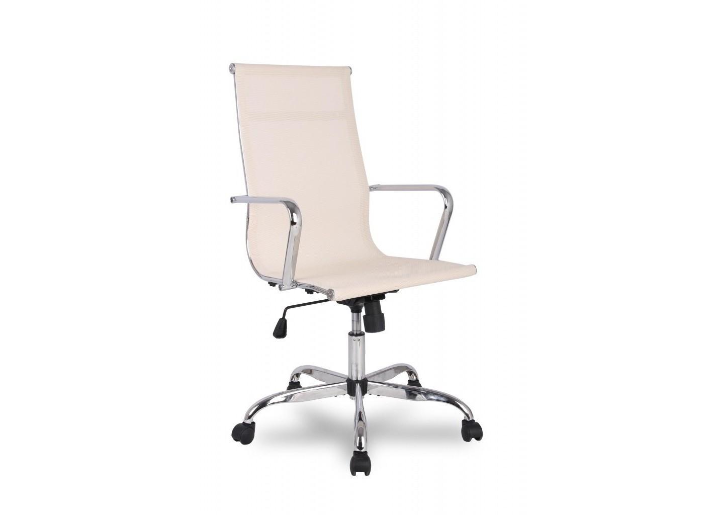 Кресло CollegeРабочие кресла<br>Кресло руководителя бизнес-класса <br><br>Конструкция: <br>Механизм качания с регулировкой под вес и фиксацией в вертикальном положении <br>Регулировка высоты (газлифт)  <br>Каркас металлический хромированный <br>Подлокотники  хромированные  без накладок <br>Материал обивки: Полимерная сетка<br>Ограничение по весу: 120 кг<br><br>Material: Текстиль<br>Ширина см: 56<br>Высота см: 115<br>Глубина см: 63