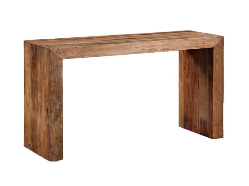 Стол консольный BandaИнтерьерные консоли<br>Небольшой консольный стол из тика, простая форма и красивая текстура дерева придают ему очарование.<br><br>Material: Тик<br>Length см: None<br>Width см: None<br>Depth см: None<br>Height см: None<br>Diameter см: None