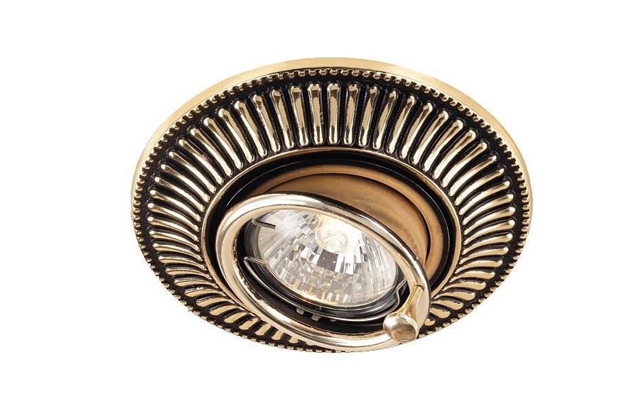 Встраиваемый светильник VintageТочечный свет<br>&amp;lt;div&amp;gt;Вид цоколя: GX5.3&amp;lt;/div&amp;gt;&amp;lt;div&amp;gt;Мощность: 50W&amp;lt;/div&amp;gt;&amp;lt;div&amp;gt;Количество ламп: 1 (нет в комплекте)&amp;lt;/div&amp;gt;<br><br>Material: Латунь<br>Высота см: 2