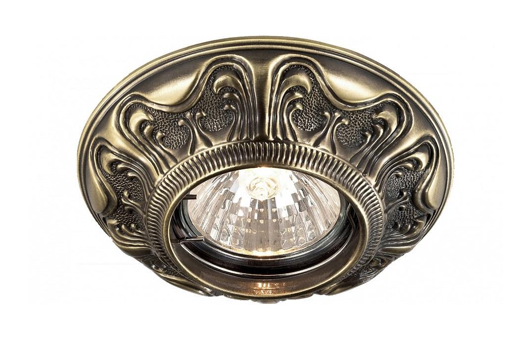 Встраиваемый светильник VintageТочечный свет<br>&amp;lt;div&amp;gt;Вид цоколя: GX5.3&amp;lt;/div&amp;gt;&amp;lt;div&amp;gt;Мощность: 50W&amp;lt;/div&amp;gt;&amp;lt;div&amp;gt;Количество ламп: 1 (нет в комплекте)&amp;lt;/div&amp;gt;<br><br>Material: Латунь<br>Depth см: None<br>Height см: 1.7<br>Diameter см: 10.5