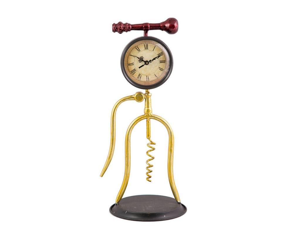 ЧасыНастольные часы<br><br><br>Material: Металл<br>Length см: 19<br>Width см: 16<br>Height см: 38