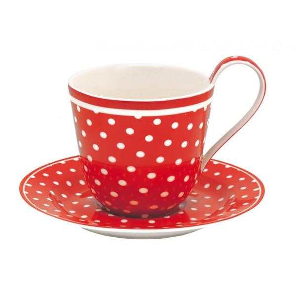 """Чайная пара """"Spot red"""""""