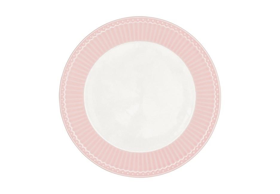 Тарелка Alice pale pinkТарелки<br><br><br>Material: Фарфор<br>Высота см: 4