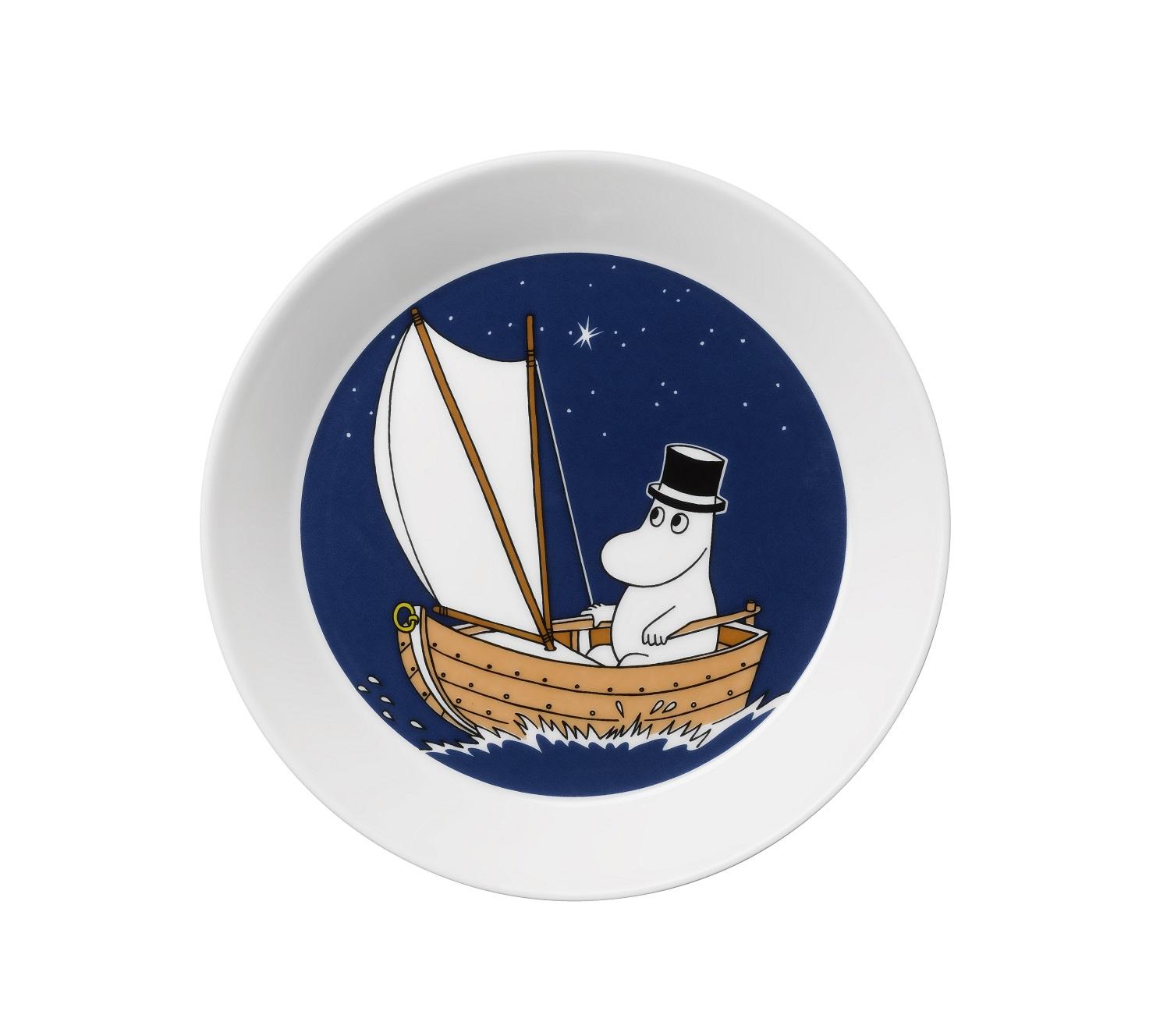 Тарелка Муми-папаТарелки<br><br><br>Material: Фарфор<br>Высота см: 5