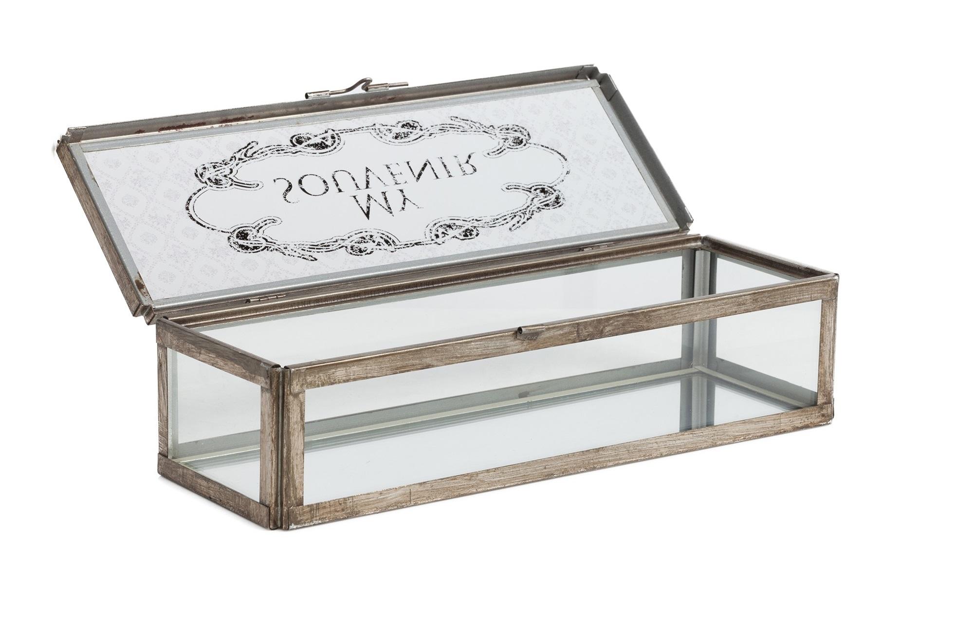 Коробка для ювелирных украшений AlanaШкатулки<br>&amp;lt;div&amp;gt;Материал: Стекло, Металл&amp;lt;/div&amp;gt;&amp;lt;div&amp;gt;&amp;lt;br&amp;gt;&amp;lt;/div&amp;gt;<br><br>Material: Металл<br>Length см: None<br>Width см: 10<br>Depth см: 30,5<br>Height см: 7,5