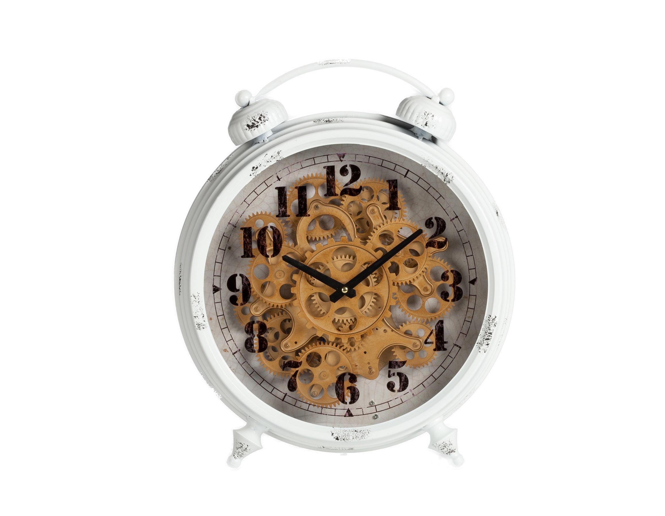 Будильник HuttonНастольные часы<br>&amp;lt;div&amp;gt;Кварцевый механизм&amp;lt;/div&amp;gt;&amp;lt;div&amp;gt;&amp;lt;br&amp;gt;&amp;lt;/div&amp;gt;<br><br>Material: Металл<br>Length см: None<br>Width см: 46<br>Depth см: 40<br>Height см: 12,5