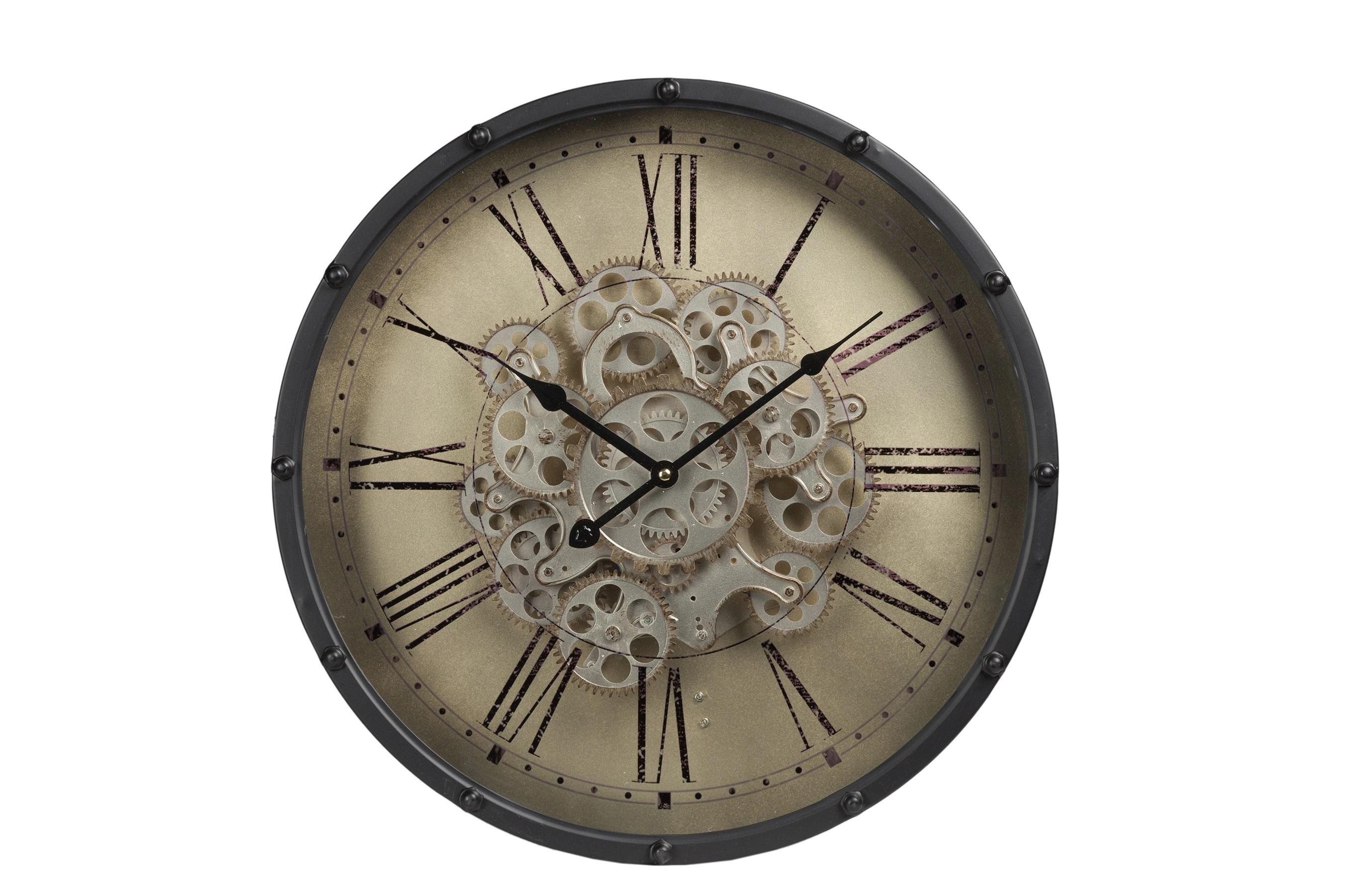 Часы настенные HarltonНастенные часы<br>&amp;lt;div&amp;gt;Кварцевый механизм&amp;lt;/div&amp;gt;&amp;lt;div&amp;gt;&amp;lt;br&amp;gt;&amp;lt;/div&amp;gt;<br><br>Material: Металл<br>Length см: None<br>Width см: None<br>Height см: 11,5<br>Diameter см: 46
