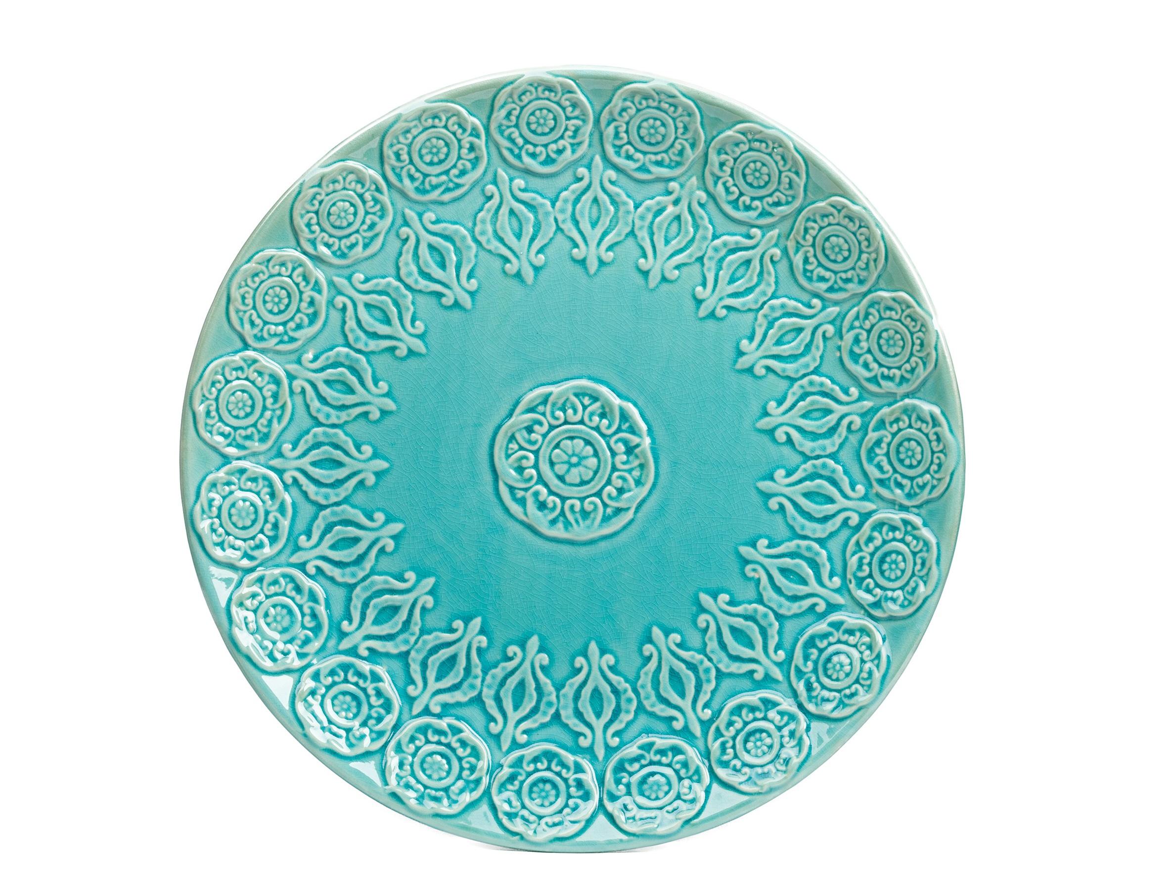 Тарелка NavyДекоративные тарелки<br><br><br>Material: Керамика<br>Length см: None<br>Width см: None<br>Height см: 4,5<br>Diameter см: 45