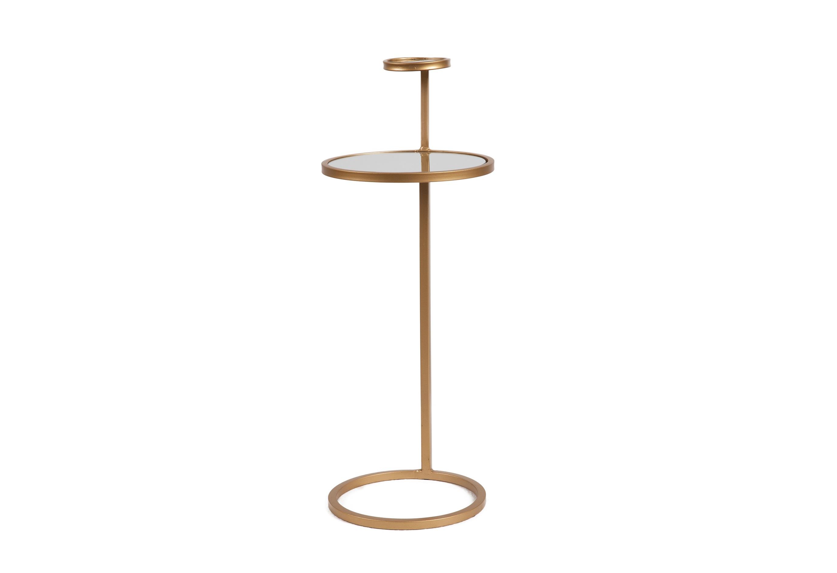 Кофейный столик JuliaКофейные столики<br><br><br>Material: Металл<br>Length см: None<br>Width см: None<br>Height см: 71<br>Diameter см: 27